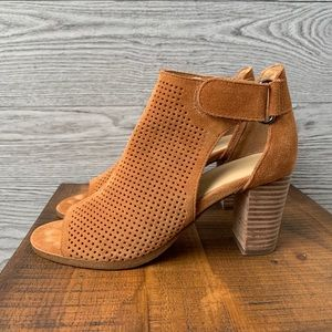 Marc Fisher Brown Suede Booties